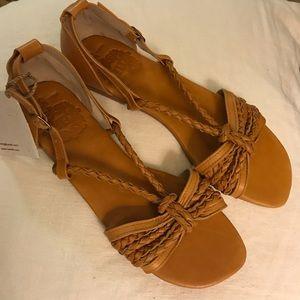 ELF Tan Sandals Size 9.5 NEW in box